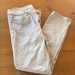 Light gray LOFT pants